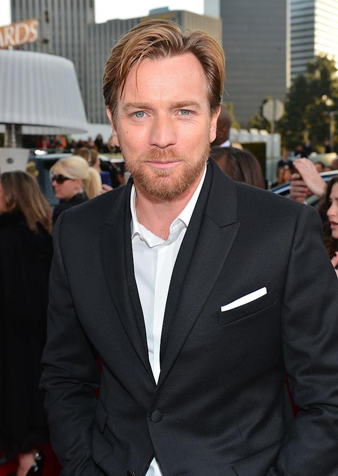 Ewan McGregor arrives at the 70th Annual Golden Globe Awards at the Beverly Hilton in Beverly Hills, CA on January 13, 2013.