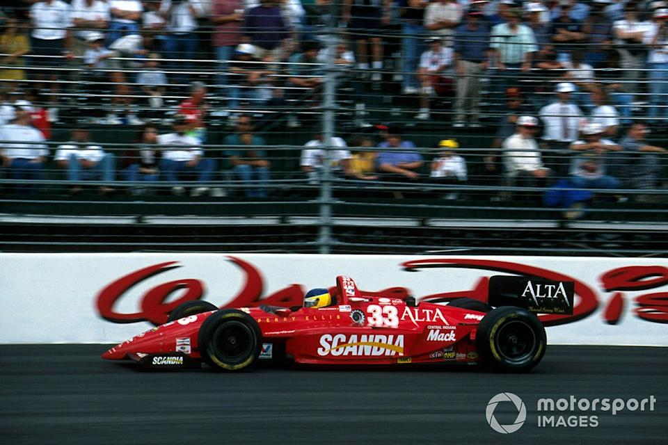 "Scoring fourth on his Indy car debut at Walt Disney World in 1996, driving for Scandia/Simon Racing. <span class=""copyright"">Sutton Images</span>"