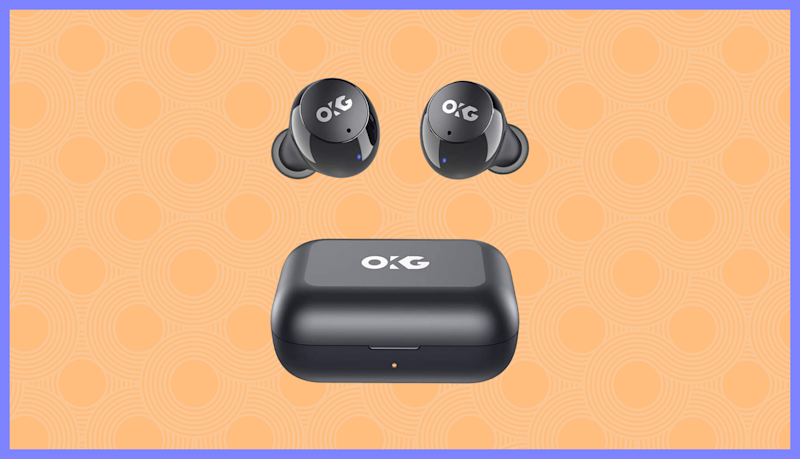 These OKG True Wireless Stereo Earbuds are just 20 bucks. (Photo: Amazon)
