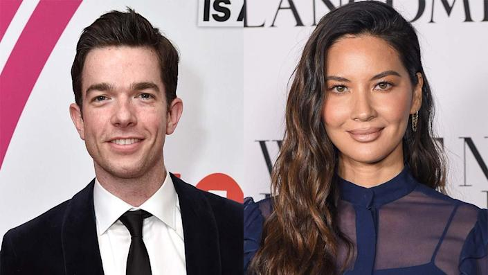 """John Mulaney is reportedly dating Olivia Munn. <span class=""""copyright"""">Getty Images</span>"""