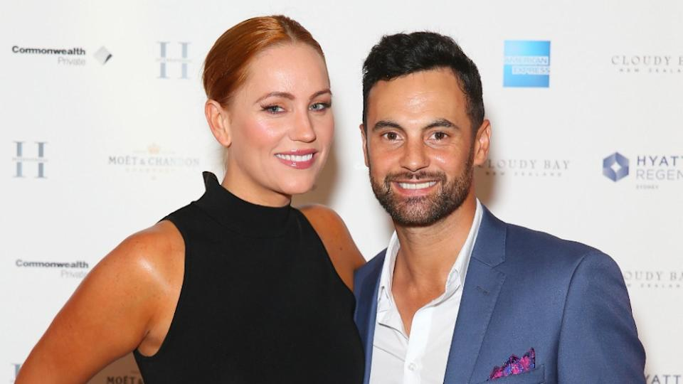 MAFS stars Jules and Cam have postponed their wedding. Photo: Getty Images