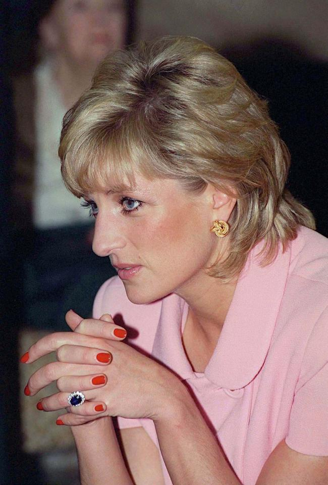 "<p>Although royal engagement rings are usually custom made, the 19-year-old bride selected hers from the Garrard jewelry collection catalog. Because Diana's ring was ""accessible"" to the public at the time, this caused a stir. </p>"