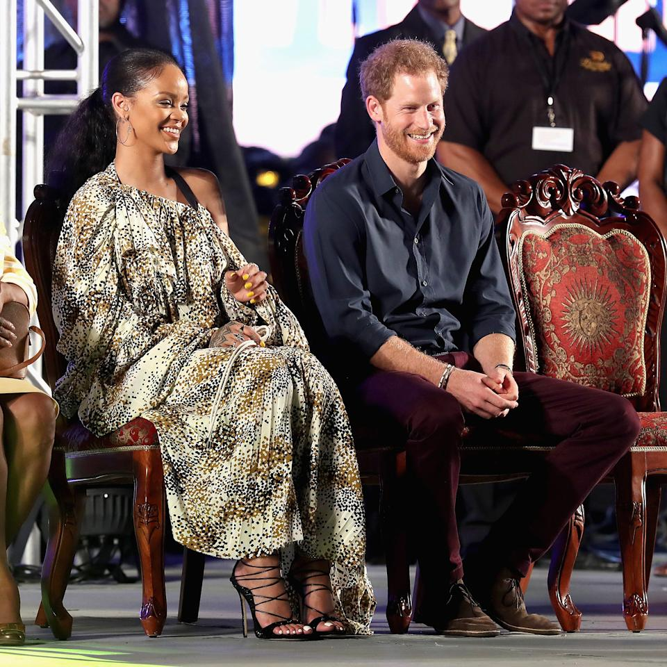 11 Amazing Photos Of Rihanna And Prince Harry's Magical