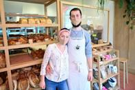 Sophia Sutton-Jones, 29, and her husband Jesse, 28, sold kitchenware online before the pandemic