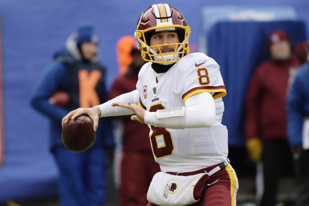 Quarterback Kirk Cousins should get a record-breaking deal in free agency. (AP)