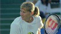 """<p><span>Steffi Graf was ranked No. 1 in the world for a cumulative 377 weeks, a feat unmatched by any player, male or female, before or since. She spent a record 186 consecutive weeks at No. 1, according to the ITHOF. The most dominant woman of the late 1980s and early 1990s without question, Graf achieved the greatest bragging rights in tennis history when she won the mythical """"Golden Grand Slam"""" in 1988 — that's when she became the only player ever to win all four Grand Slam singles titles and an Olympic gold medal in the same year. Also, no other player male or female has ever won every Grand Slam tournament at least four times except for Steffi Graf.</span></p> <p><a href=""""https://www.gobankingrates.com/net-worth/sports/what-is-steffi-graf-net-worth/?utm_campaign=1130237&utm_source=yahoo.com&utm_content=29&utm_medium=rss"""" rel=""""nofollow noopener"""" target=""""_blank"""" data-ylk=""""slk:Find out what her total net worth is."""" class=""""link rapid-noclick-resp"""">Find out what her total net worth is.</a></p> <div class=""""listicle--slide--content""""> <p><em><strong>Drive: <a href=""""https://www.gobankingrates.com/net-worth/sports/rich-big-name-nascar-drivers/?utm_campaign=1130237&utm_source=yahoo.com&utm_content=30&utm_medium=rss"""" rel=""""nofollow noopener"""" target=""""_blank"""" data-ylk=""""slk:How Rich Are These Big-Name NASCAR Drivers?"""" class=""""link rapid-noclick-resp"""">How Rich Are These Big-Name NASCAR Drivers?</a></strong></em></p> </div> <p><small>Image Credits: Phil Anthony / Shutterstock.com</small></p>"""