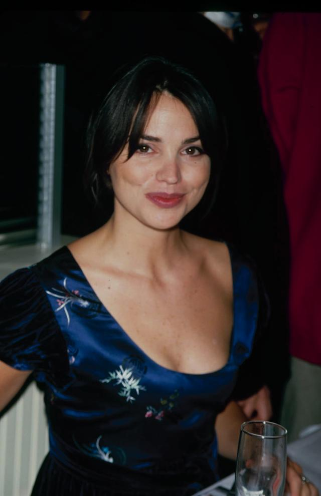 Circa 1992: American model and MTV VJ Karen Duffy, aka Duff. (Photo by: Life Picture Collection/Getty Images)