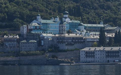 There are 20 monasteries on the peninsula in northern Greece - Credit: Getty