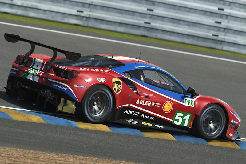 Leclerc and Giovinazzi team up for Virtual Le Mans