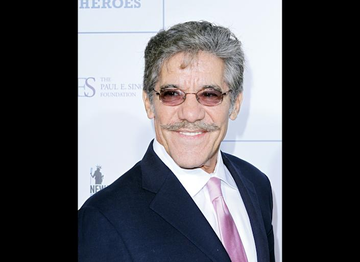 NEW YORK, NY - NOVEMBER 09: Geraldo Rivera attends 2011 Stand Up for Heroes at the Beacon Theatre on November 9, 2011 in New York City. (Photo by Donna Ward/Getty Images)