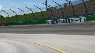 Turn 1 at Kentucky Speedway (via Kentucky Speedway)