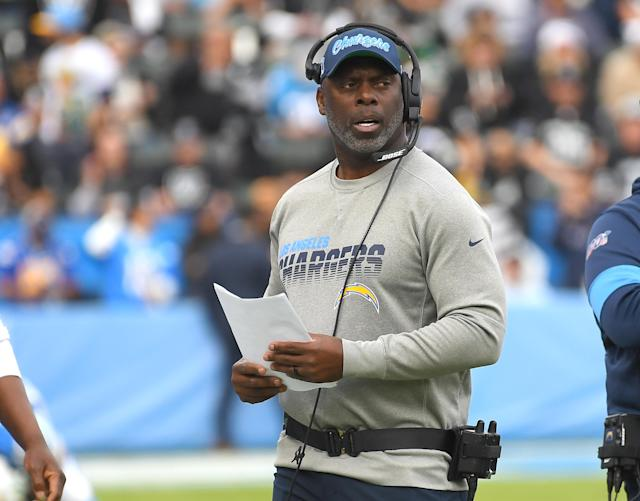 Chargers coach Anthony Lynn is one of just four minority head coaches in the NFL. (Jayne Kamin-Oncea/Getty Images)