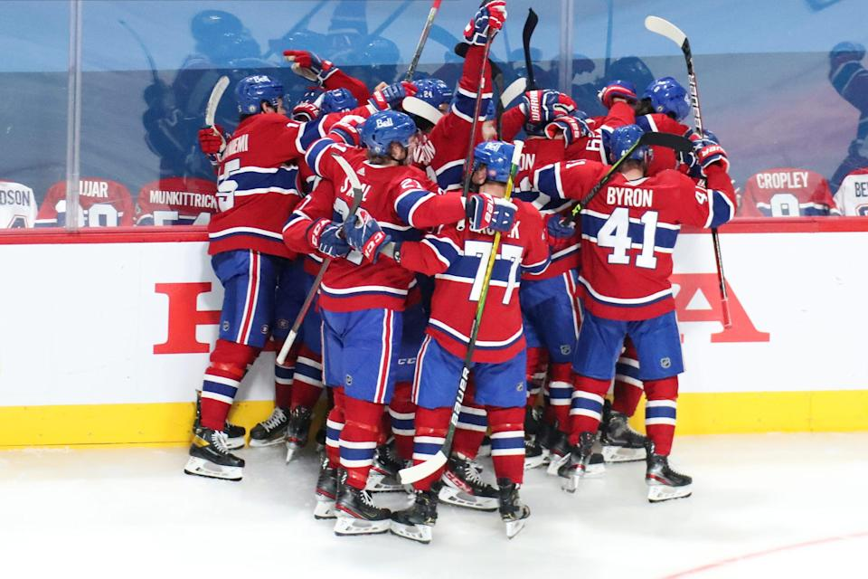 The Montreal Canadiens are headed to the NHL playoff semifinals after sweeping the Winnipeg Jets.