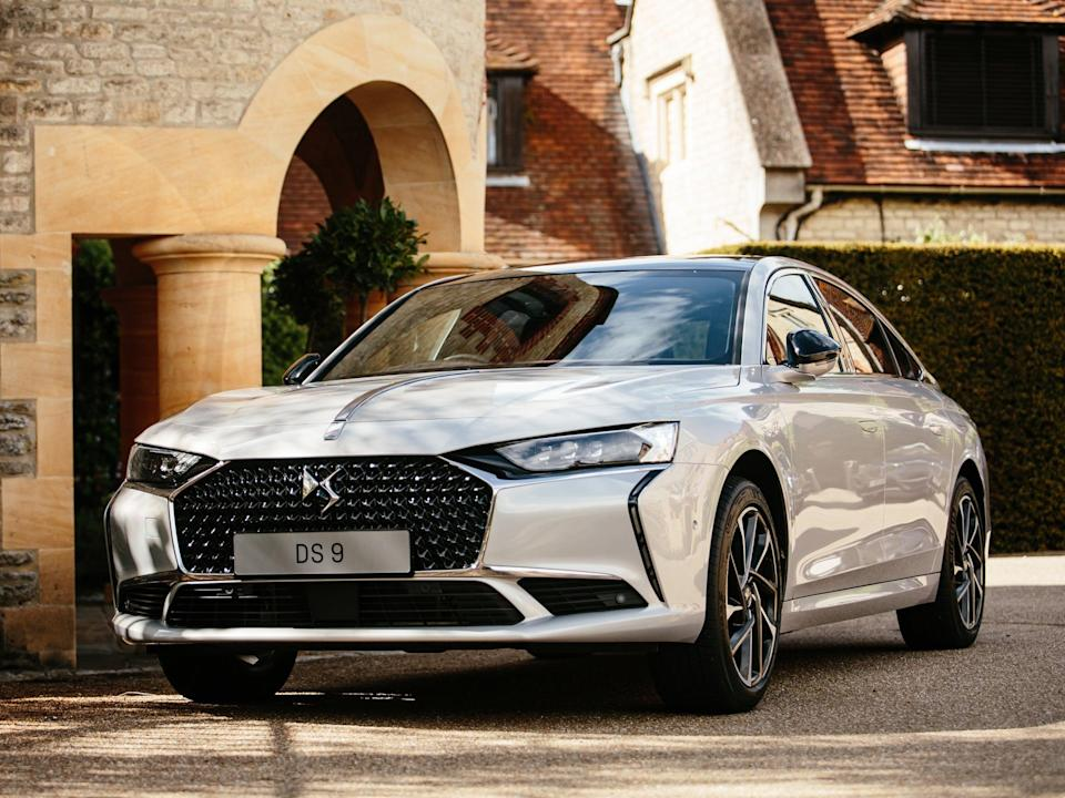 The DS 9: Not as boldly stylish as its 1950s inspiration, but worth seeing 'in the metal' (Peugeot)