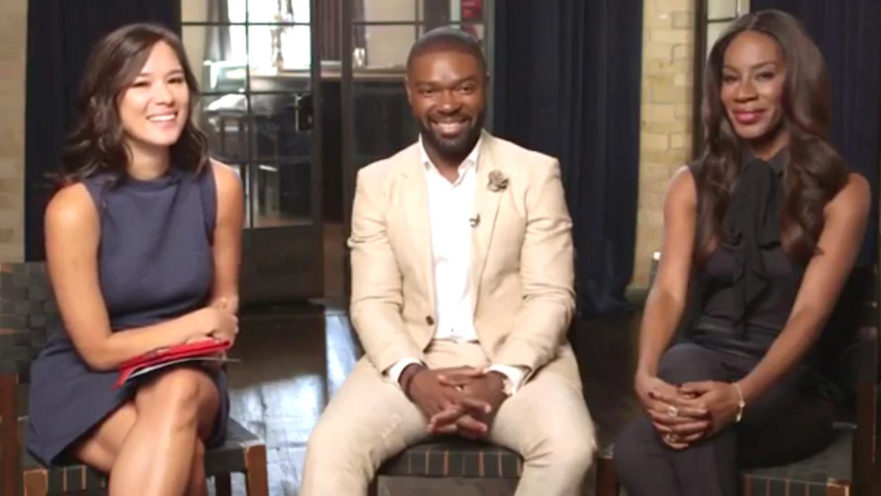 Actor David Oyelowo and director Amma Asante discuss their film 'A United Kingdom' with THR's Rebecca Ford at the Toronto International Film Festival. Rosamund Pike also stars.