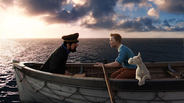 adventures of tintin Paramount