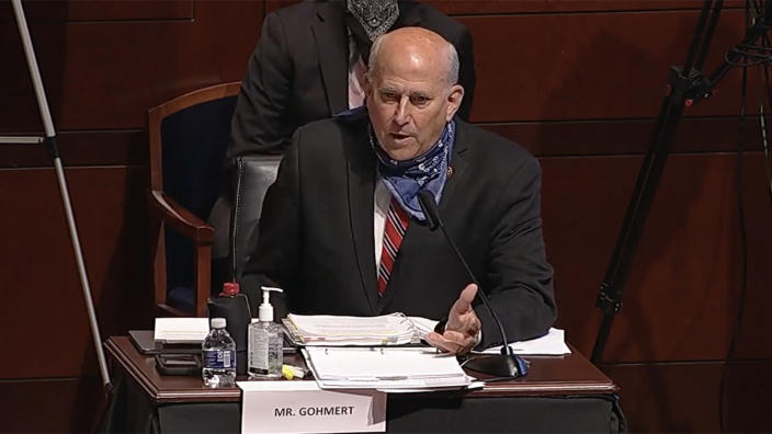 Rep. Louie Gohmert, R-Texas, during a House Judiciary Committee hearing on Wednesday. (House.gov)