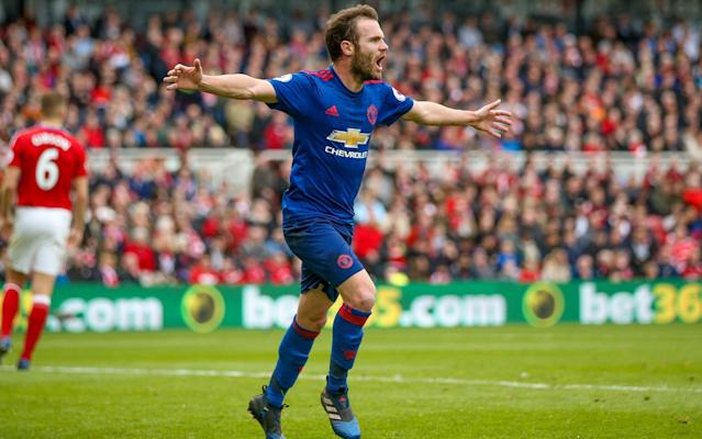 <span>Juan Mata is expected to return shortly</span>