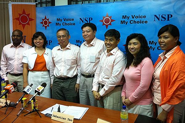 The National Solidarity Party announced that it will not contest in Moulmein-Kallang GRC and Yuhua SMC. (Yahoo! Photo).