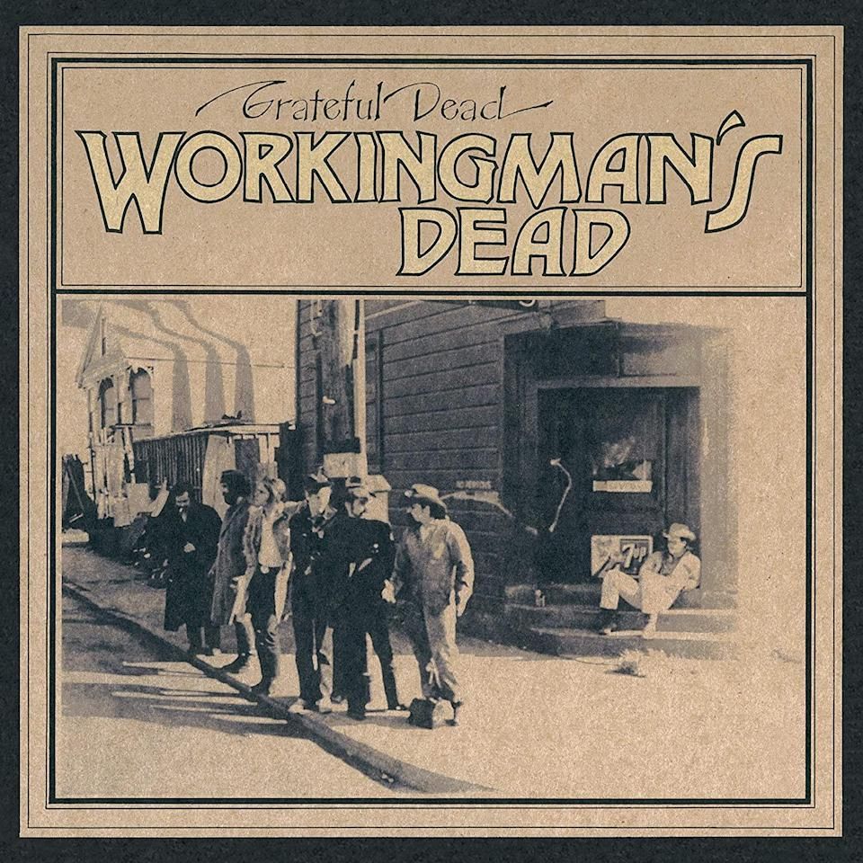 Grateful Dead Workingman's Dead vinyl