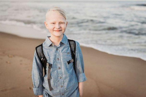 PHOTO: Alec Ingram died after a with osteosarcoma. The 14-year-old's services were held Nov. 17 in Missouri, with thousands of cars lining up on the streets to honor his memory. (Ingram Family)