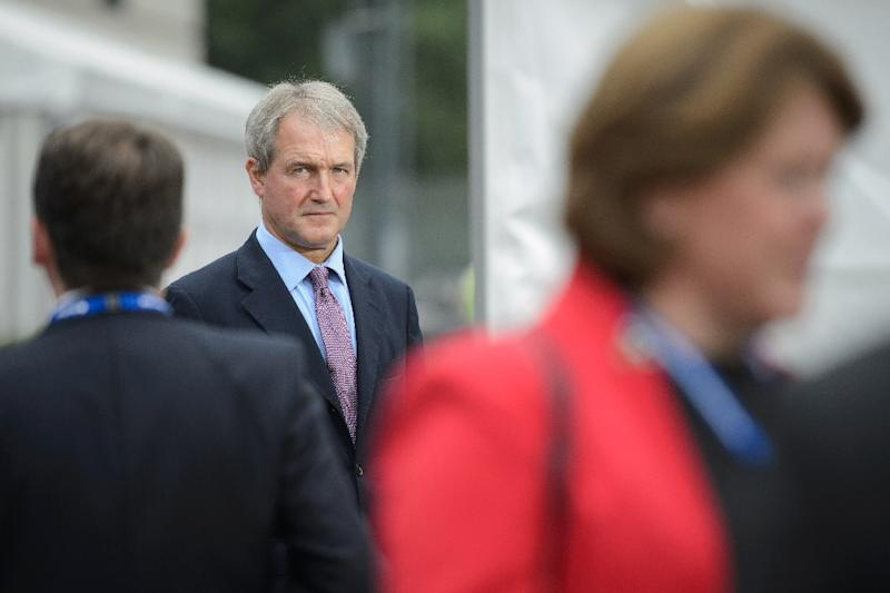 """Eurosceptic ex-minister Owen Paterson said if voters sensed the referendum was """"rigged"""", the vote """"could be seen as illegitimate"""" (AFP Photo/Leon Neal)"""
