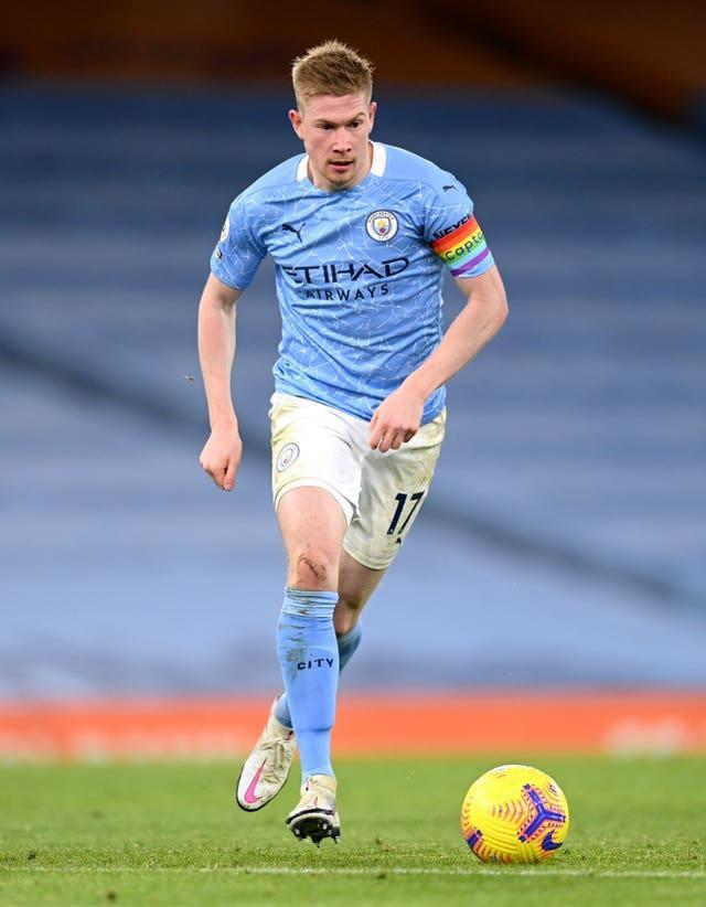 Kevin De Bruyne is unlikely to be risked at Newcastle on Friday