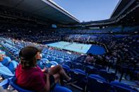 Spectators returned to Rod Laver Arena after a state-wide coronavirus lockdown