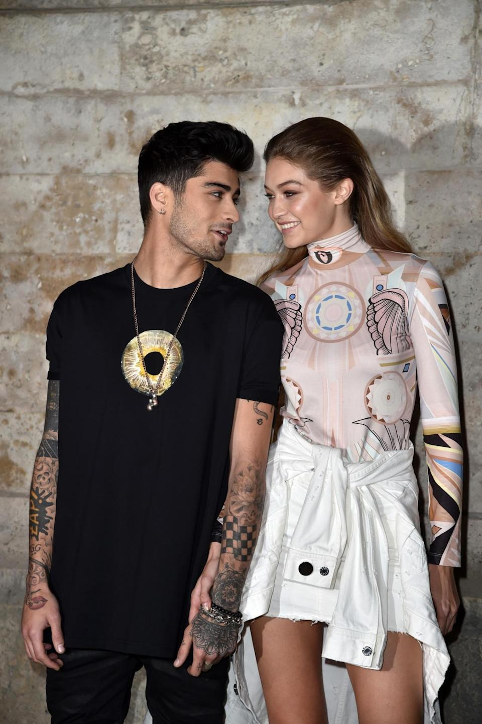 <p>It will be Gigi's second time walking the VS runway. She's still yet to earn her wings but who wants to bet that uber famous boyfriend Zayn Malik will be in the front row waiting to cheer her on? The pair have been dating for almost a year and now happily appear in public together after a few months of privacy. <i>[Photo: Getty]</i> </p>