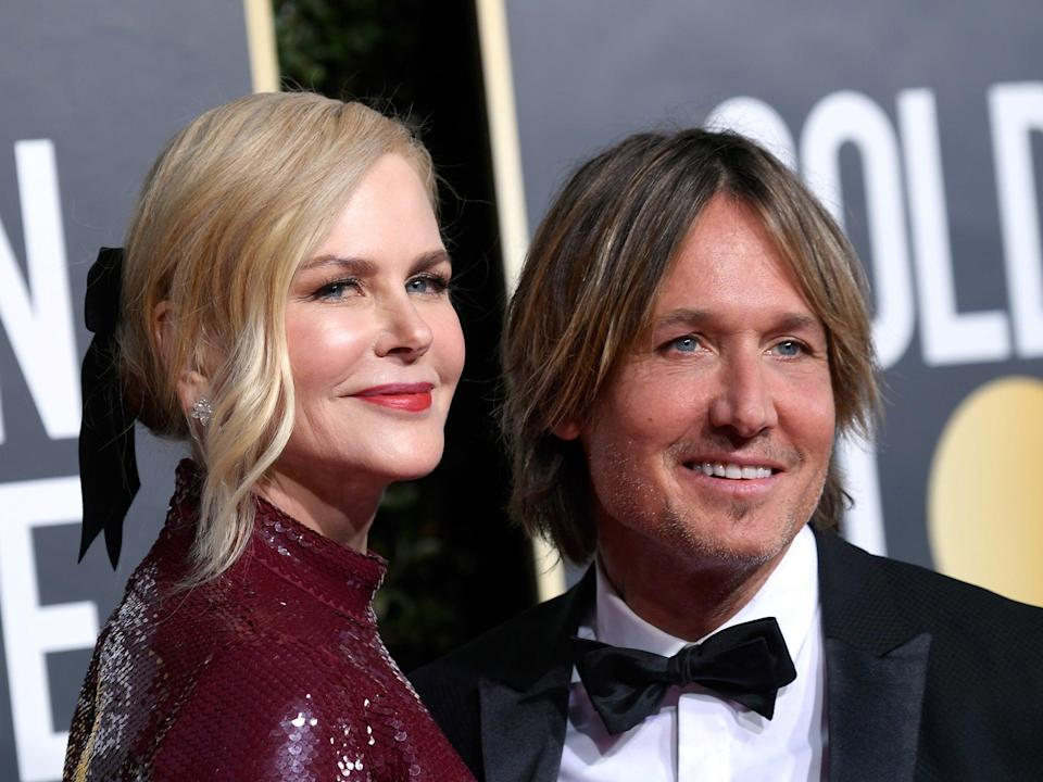 Nicole Kidman and Keith Urban at an event in 2019 (Frazer Harrison/Getty Images)