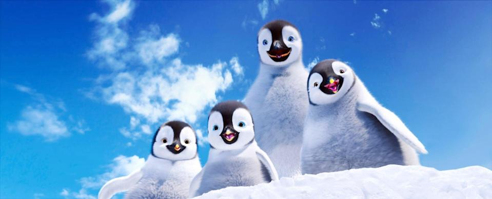 """<p><strong>HBO Max's Description:</strong> """"Tap-dancing penguin Mumble is now a daddy...and he's got an equally unique (and talented) son to help in this fun-filled family sequel. After a humiliating public experience, young Erik runs away from home. With Mumble on a desperate search to find his boy, calamity strikes leaving their entire penguin population trapped. Can Mumble and Erik find a way to save the day?""""</p> <p><a href=""""https://play.hbomax.com/feature/urn:hbo:feature:GXhiOnwOxZqXDAgEAAAZt"""" class=""""link rapid-noclick-resp"""" rel=""""nofollow noopener"""" target=""""_blank"""" data-ylk=""""slk:Watch Happy Feet Two on HBO Max here!"""">Watch <strong>Happy Feet Two</strong> on HBO Max here!</a></p>"""