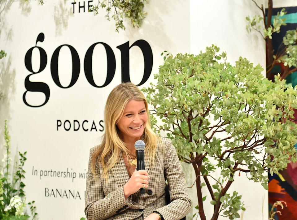 Goop has faced criticism over advice about 'leanest liveable weight' [Photo: Getty]