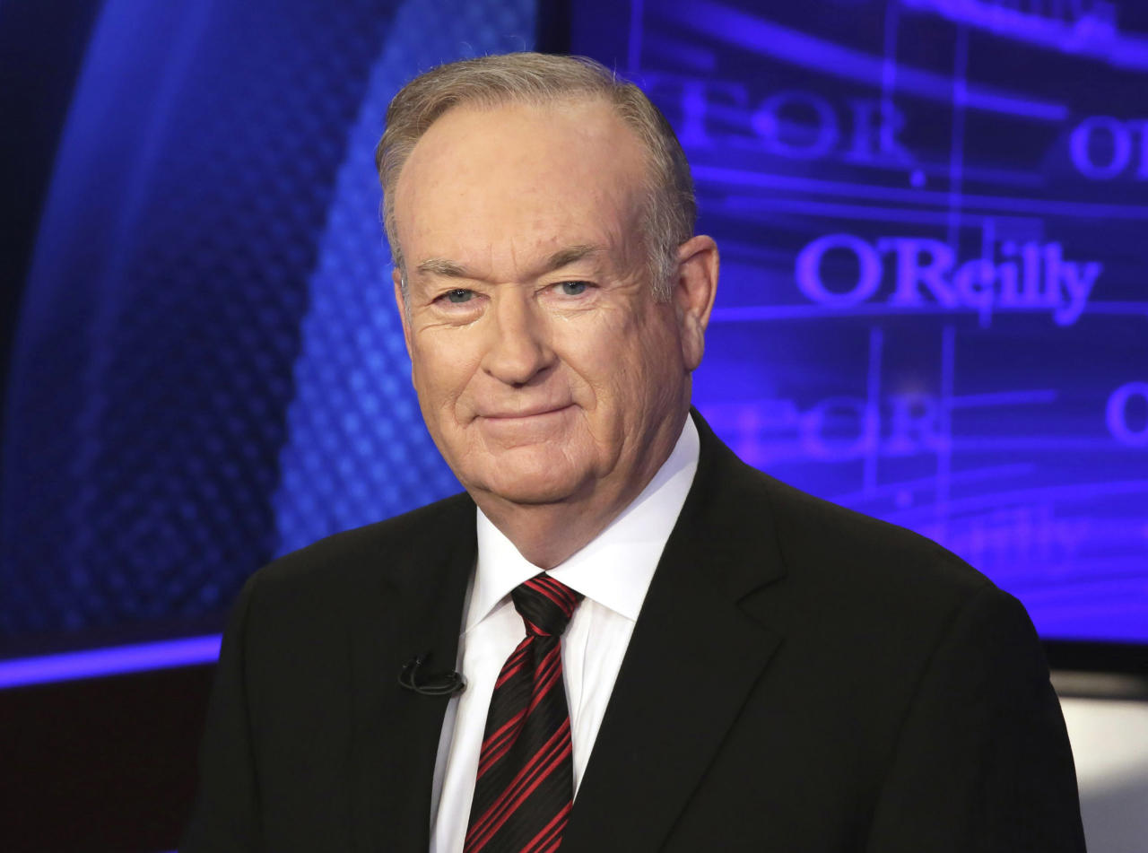 """<p> FILE - In this Oct. 1, 2015 file photo, Bill O'Reilly of the Fox News Channel program """"The O'Reilly Factor,"""" poses for photos in New York. Swedes are finding themselves puzzled by representations of their country in the U.S. after a prominent Fox News program featured a """"Swedish defense and national security advisor"""" who's unknown to the country's military and foreign-affairs officials. The Swedish Defense Ministry and Foreign Office told a Swedish newspaper they knew nothing of him. Fox News commentator O'Reilly convened an on-air faceoff Thursday, Feb. 23, 2017, over Swedish immigration and crime between a Swedish newspaper reporter and a man identified on screen and verbally as a """"Swedish defense and national security advisor,"""" Nils Bildt. (AP Photo/Richard Drew, File) </p>"""