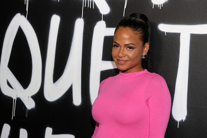 LOS ANGELES, CALIFORNIA – SEPTEMBER 21: Christina Milian attends The Hair-Tique presented by Phil On Hair at Goya Studios on September 21, 2019 in Los Angeles, California. (Photo by Sarah Morris/Getty Images)