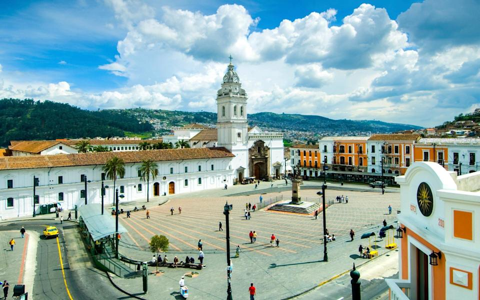 The Old Town in Quito - Getty