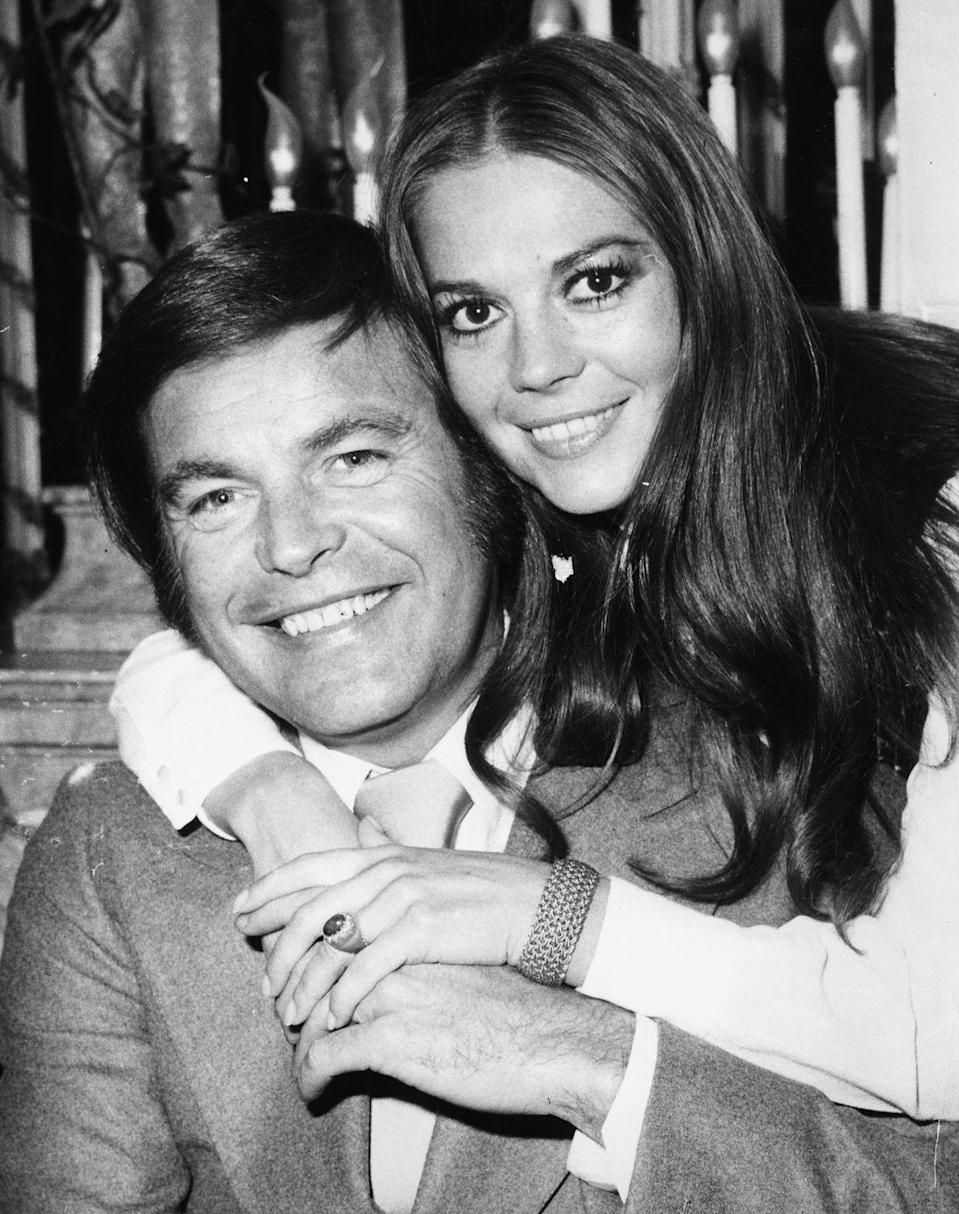 """<p>Actress Natalie Wood lived a fascinating life, and she shared some of it with Robert Wagner. The two wed for the first time in 1957, only to divorce in 1962, according to<a href=""""https://www.eonline.com/news/911264/inside-natalie-wood-and-robert-wagner-s-tumultuous-ultimately-tragic-romance"""" rel=""""nofollow noopener"""" target=""""_blank"""" data-ylk=""""slk:E! News"""" class=""""link rapid-noclick-resp""""> E! News</a>. After each of them had other relationships, the two realized they still had feelings for one another. They remarried on July 16, 1972. Robert and Natalie remained together until her unexpected death in 1981.</p>"""