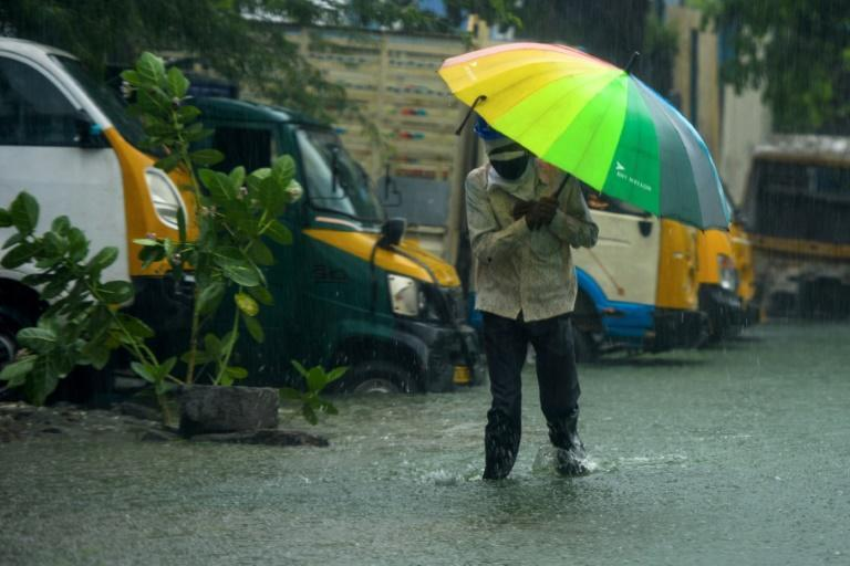 Authorities in southeastern India evacuated several thousand people from the path of Cyclone Nivar