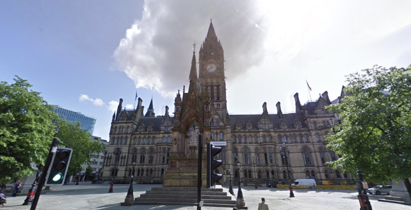 Manchester City Council has been criticised in today's review for its care in the early 2000s. (Google Maps)
