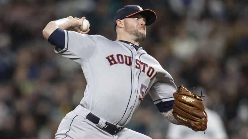 Astros reliever Pressly sets MLB record