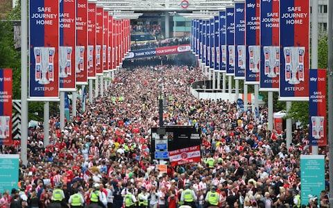 Scenes at Wembley - Credit: Harriet Lander/Copa/Getty Images