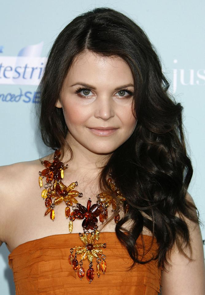 """Big Love"" star Ginnifer Goodwin's brunette strands were beautiful when they tumbled over her shoulders. Jeffrey Mayer/<a href=""http://www.wireimage.com"" target=""new"">WireImage.com</a> - February 2, 2009"