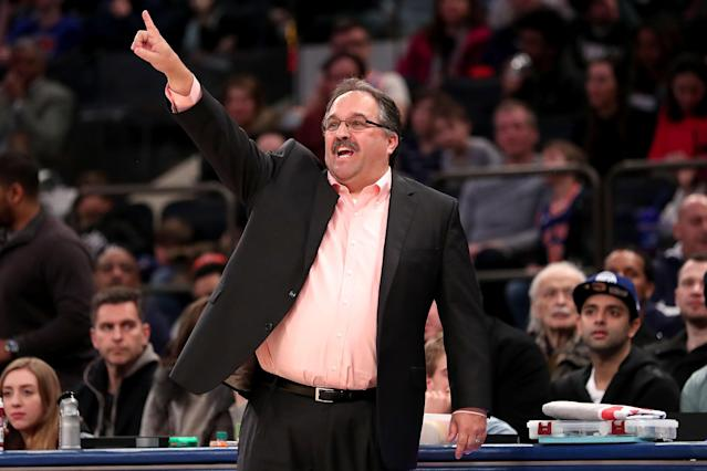 Stan Van Gundy led the Pistons to a 152-176 record during his four-year tenure in Detroit. (Getty)