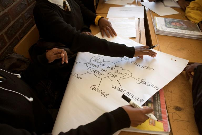 Apartheid has left an entangled emotional legacy in South Africa. Students begin by analysing the mechanism of group identity