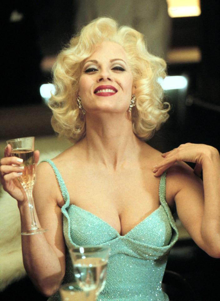 """Barbara Niven played Marilyn Monroe in the television movie """"<a href=""""http://movies.yahoo.com/movie/the-rat-pack/"""">The Rat Pack</a>,"""" which also starred Ray Liotta as Frank Sinatra, Don Cheadle as Sammy Davis, Jr., William Peterson as John F. Kennedy, and Joe Mantegna as Dean Martin."""