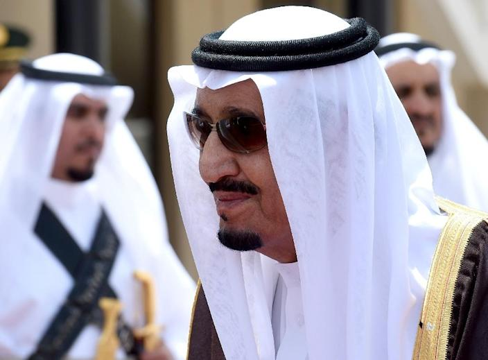 Saudi King Salman bin Abdulaziz, seen on May 5, 2015 in Riyadh, has adopted a more assertive foreign policy than his predecessor, King Abdullah (AFP Photo/Fayez Nureldine)