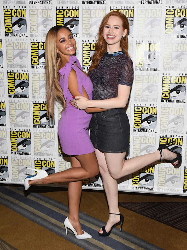 """<p>The <strong>Riverdale</strong> stars fan-favorite couple Cheryl and Toni, but offscreen, they're good friends. <a href=""""http://www.instagram.com/p/B7HsYtJHitu/"""" target=""""_blank"""" class=""""ga-track"""" data-ga-category=""""Related"""" data-ga-label=""""http://www.instagram.com/p/B7HsYtJHitu/"""" data-ga-action=""""In-Line Links"""">Madelaine was even part of Vanessa's wedding party</a> when she got married in January 2020. </p>"""