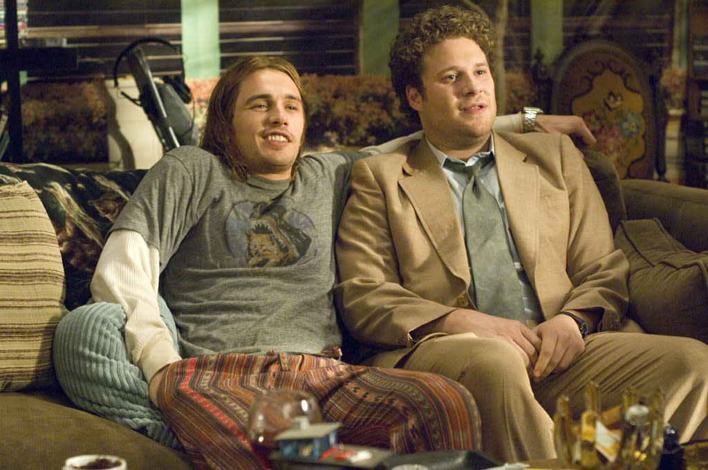 "2 NOMINATIONS -- <a href=""http://movies.yahoo.com/movie/1809846725/info"">Pineapple Express</a>  Best Comedic Performance - <a href=""http://movies.yahoo.com/movie/contributor/1800352352"">James Franco</a>  Best Fight"