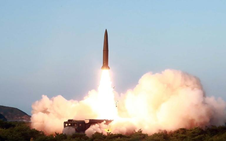 Thursday's launch was a 'solemn warning' to the South, North Korean state media said (AFP Photo/KCNA VIA KNS)