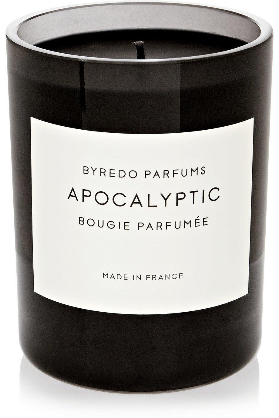 "<h3><a href=""https://www.net-a-porter.com/us/en/product/577972"" rel=""nofollow noopener"" target=""_blank"" data-ylk=""slk:Byredo Apocalyptic Candle"" class=""link rapid-noclick-resp"">Byredo Apocalyptic Candle</a></h3><br>Handmade in France, this luxury candle infuses the enticing scents of fire, iron, black raspberry, wood, and papyrus — resulting in an aroma that one reviewer describes as, ""one of those fragrances that you come back and keep sniffing...This smells like the woods and a campfire but also it smells high end - maybe it is what a rich person would smell like if they went camping - in any event it is woody, smokey, fresh and earthy all at the same time...you must smell in person, it's like nothing else.""<br><br><br><strong>Byredo</strong> Apocalyptic Scented Candle, $, available at <a href=""https://go.skimresources.com/?id=30283X879131&url=https%3A%2F%2Fwww.net-a-porter.com%2Fus%2Fen%2Fproduct%2F577972"" rel=""nofollow noopener"" target=""_blank"" data-ylk=""slk:Net-A-Porter"" class=""link rapid-noclick-resp"">Net-A-Porter</a>"