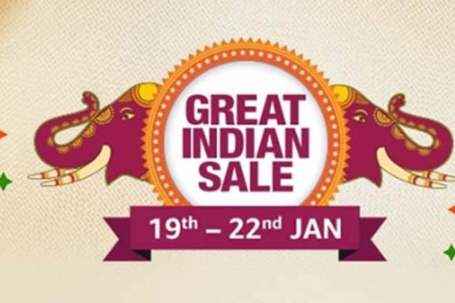 The e-commerce giant has announced its four days 'Great Indian Sale' from January 19, 2020, to January 22, 2020.